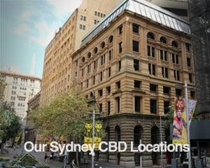 Our Sydney CBD Locations
