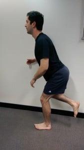 Single leg squat