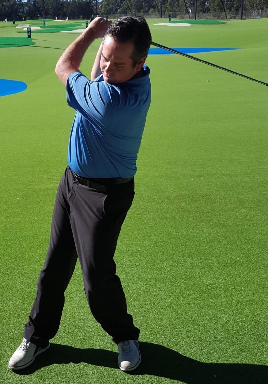 Reverse Spine Angle In The Golf Swing Bend Mend